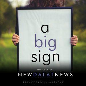 A Big Sign - Dalat News Article